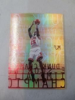 MICHAEL JORDAN Chicago Bulls 1996 UD3 MJ3-2 RARE INSERT Card