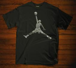 Michael Jordan Chicago BULLS Acetate Black T-shirt Supreme B