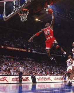 MICHAEL JORDAN Chicago Bulls Glossy 8 x 10 Photo Poster Man