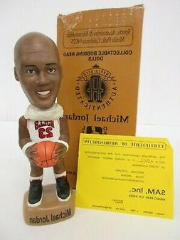 Michael Jordan Chicago Bulls Limited Edition 1994 SAM bobble