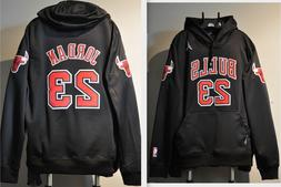 Michael Jordan Chicago Bulls NBA Jersey Hooded Sweatshirt Em