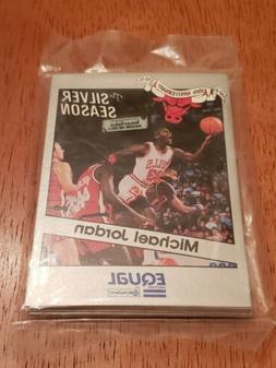 Michael Jordan Chicago Bulls New Sealed Equal The Silver Sea