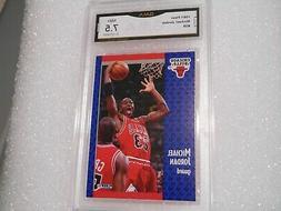 Michael Jordan GRADED CARD!! 1991 Fleer #29 Chicago Bulls 7.