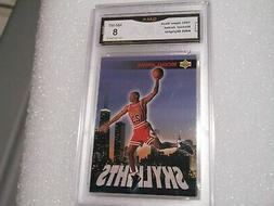 Michael Jordan GRADED CARD!! 1993 Upper Deck #466 Chicago Bu