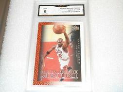 Michael Jordan GRADED CARD!! Mint 9!! 2000 UD Century #69 Bu