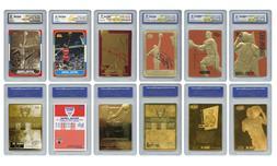 Michael Jordan Mega-Deal Licensed Cards Graded Gem-Mint 10