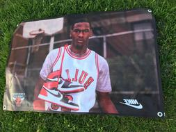 Michael Jordan Nike shoes vintage Chicago Bulls vinyl thick