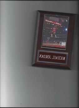 MICHAEL JORDAN PLAQUE CHICAGO BULLS BASKETBALL NBA