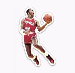 Michael Jordan Retro Die Cut Logo Sticker Decal Basketball N