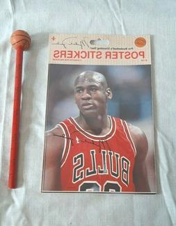 Michael Jordan Sticker and Pencil Chicago Bulls