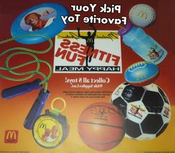 MIP McDonald's 1992 FITNESS FUN Michael Jordan SPORT TOY Chi