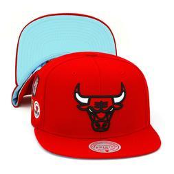 Mitchell & Ness Chicago Bulls Snapback Hat Cap Red/NBA Final