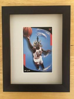 "NBA Basketball Chicago Bulls Michael Jordan ""King Me"" Matted"