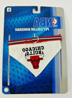 NBA Basketball Pet Collar Bandana Dog Cat - Chicago Bulls -