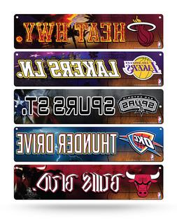 nba basketball street sign 3 75 x