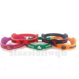NBA Basketball Teams Power Balance Wristband Bracelet Silico