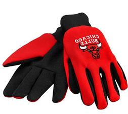 Forever Collectibles NBA Chicago Bulls 2011 Work Glove, Red