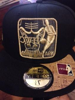 NBA Chicago Bulls New Era 59 Fifty Hard Wood Classic Hat/cap
