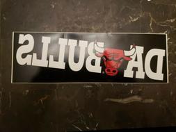 NBA Chicago Bulls 90's Collectable Bumper Sticker DA BULLS M