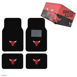 NBA Chicago Bulls Car Truck Carpet Floor Mats & Synthetic Le