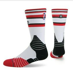 STANCE NBA CHICAGO BULLS CORE CREW BASKETBALL SOCKS SZ: LARG