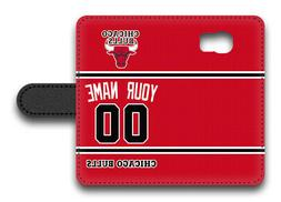 NBA Chicago Bulls Personalized Name/Number Samsung Phone Wal