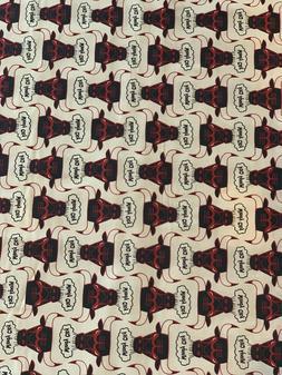 NBA Chicago Bulls- Stacked Vintage Logo Cotton 1/4 yard  SHI