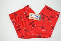 NBA Chicago Bulls Toddler Boys Sleepwear Soft Sleep Pants, R