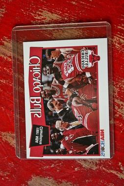 NBA Hoops 1991 NBA Champions Chicago Bulls Card 277 in Prote