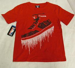 NBA Licensed Apparel Chicago Bulls Short Sleeve Shirt Youth