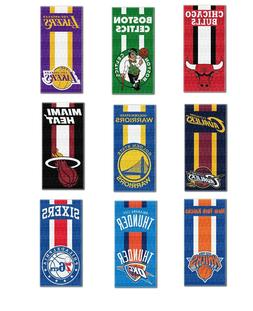 "NBA Teams ""Zone Read"" Beach Towel, 30-inch by 60-inch"
