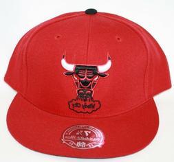 NEW Chicago Bulls MITCHELL & NESS NBA Windy City Bulls Fitte