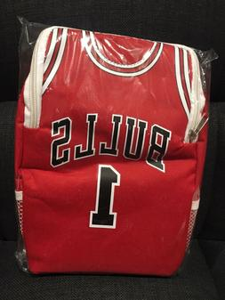 New Chicago Bulls SGA Lunchbox - Red #1 Jersey Style