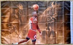 *NEW* Michael Jordan Custom 3x5 Flag / Memorabilia / Art / C