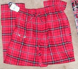 NEW NBA Chicago Bulls Flannel Pants Loungewear Sleepwear Men