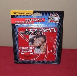 New NBA Chicago Bulls Magnetic Wallet Size Photo Frame