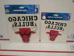 New OS 10PC LOT 2007 Chicago Bulls Official NBA Car magnet -