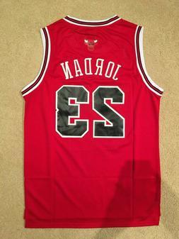 NEW Throwback Basketball Jersey MICHAEL JORDAN #23 Chicago B