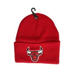 NEW Unisex Chicago Bulls Beanie Skull Cap Cuff Winter Warm R