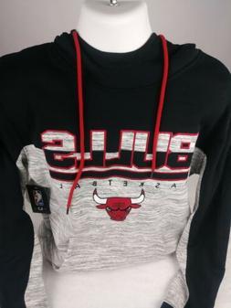 NWT NBA Apparel Chicago Bulls Men's Hoodie Sweatshirt Pocket