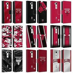 OFFICIAL NBA CHICAGO BULLS LEATHER BOOK WALLET CASE COVER FO