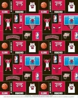 Package of Short Pieces Chicago Bulls NBA Square 012 Fleece