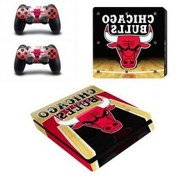 PS4 Slim Console Controllers Vinyl Skin Stickers Decals Cove