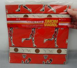 Rare NOS Oddball Vintage Michael Jordan Gift Wrap Paper Air