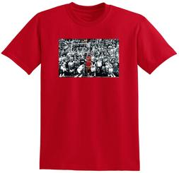 "RED Michael Jordan Chicago Bulls ""THE SHOT"" T-Shirt"