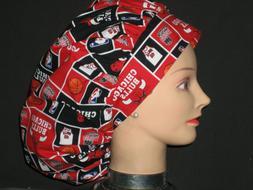 Surgical Scrub Hats/Caps NBA Chicago Bulls Basketball block