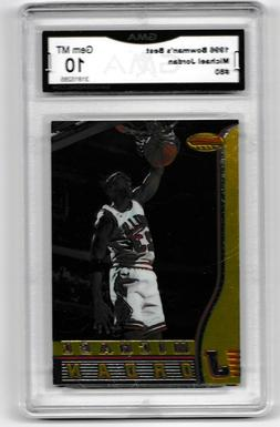 TWO GEM MInt  JORDAN CARDS BOTH GRADED 10 FOR Price in Front