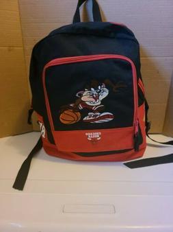 Vintage 1997 chicago bulls Looney Tunes Backpack  Tasmanian
