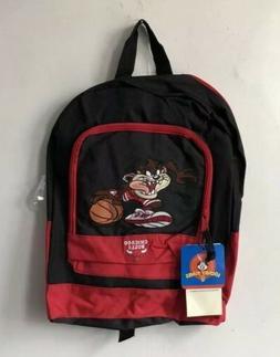 vintage chicago bulls taz backpack bag deadstock NWT 1998 lo
