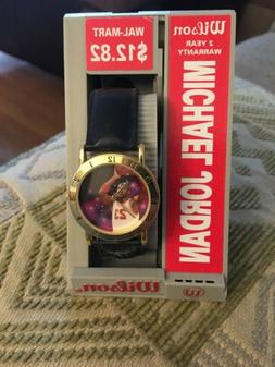 Vintage Wilson Michael Jordan Space Jam Wristwatch 23 Chicag